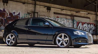 Audi A3 Seite rechts