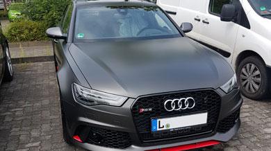 Audi RS6 Quattro Front