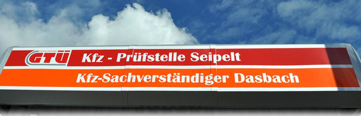 Werbung Kfz-Sachverständigenbüro Martin Dasbach