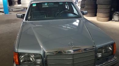 Mercedes 500 SL Front