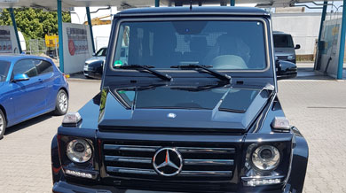 Mercedes M-Klasse, Front