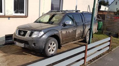 Nissan verschmutzt, Bild 1
